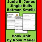 Reading and Writing Worksheets for Junie B Jingle Bells Ba