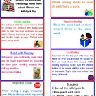 Reading at Home Activities for Parents