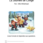 Reading comprehension La Bataille de Boules de Neige