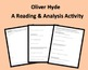 Reading for Application Activity &amp; Letter Writing w/Oliver Hyde&#039;s