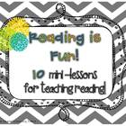 Reading is Fun 10 Mini-Lessons for Teaching Reading