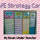 Reading strategy cards for CAFE