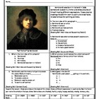 Reading the Masters with Rembrandt Intervention Skills Sheet