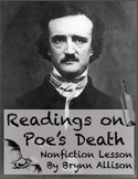 Readings on Poe's Death: Lesson Focused on Non Fiction Skills