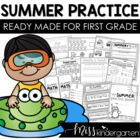 Ready Made for First Grade! {Fun Summer Practice}
