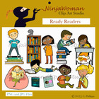Ready Readers Clip Art