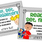 Ready, Set, Kindergarten/First BUNDLE {intro to K-1 ELA &
