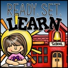 Ready, Set, Learn! {Back To School Math &amp; Literacy Activities}
