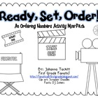 Ready, Set , Order! An Ordering Numbers Activity Mini-Pack