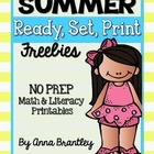 Ready, Set, Print: Summer Freebie Printables