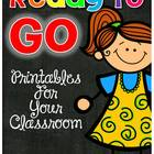 Ready To GO! - Printables For Your Classroom