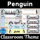 Ready-to-Go Penguin Theme Classroom
