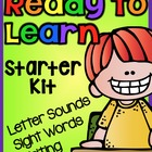 Ready to Learn: Letter Sounds, Sight Words, and Writing