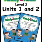 Ready2Read Level 2 Units 1 and 2