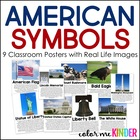 American Symbol Posters for the Primary Classroom
