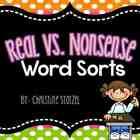 Real Vs. Nonsense Word Sorts