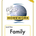 Real World Homework Chart - Family (Sp, Fr)