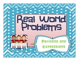 Real World Problem Solving with Algebra