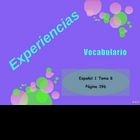 Realidades Spanish 1 Chapter 8A Vocabulary Powerpoint