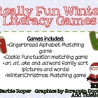 Really Fun Winter Literacy Games