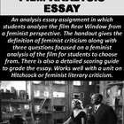 Rear Window Film Analysis Essay