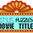 Rebus &quot;Wuzzle&quot; Puzzle Worksheet 7 - LET&#039;S GO TO THE MOVIES