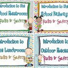 Recess, Restroom, Lunchroom, Hallway: Rules &amp; Safety {bundle}