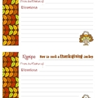 Recipe Card - How to Cook a Thanksgiving Turkey
