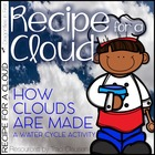 Cloud Science Lesson Activity and Craft - Recipe for a Cloud