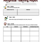 Reciprocal Teaching Report