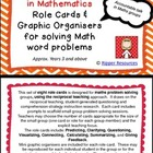 Reciprocal Teaching in Math role cards with mini graphic o