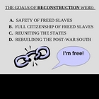 Reconstruction after Civil War - PowerPoint