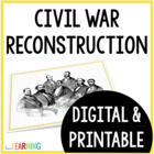 Reconstruction after the Civil War {Lesson and Notes Sheet}