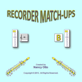 RECORDER MATCH-UPS