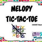 Recorder Melody Tic-Tac-Toe- SMART Board