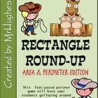 Rectangle Round-Up {Finding Perimeter and Area of Rectangles}
