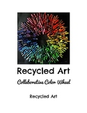Recycled Art Project for Kids: Collaborative Color Wheel