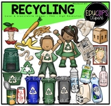 Recycling Clip Art Bundle