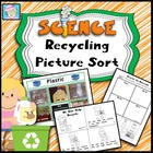 Recycling Picture Sort -- Earth Day