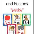 Red, Orange, Yellow, Green, and Blue Classroom Labels & Resources