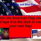 Red White and Blue Patriotic Power point