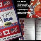 """Red, White and Blue"" Traditional Hardback Picture Book (w"