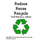 Reduce Reuse Recycle: Test Prep