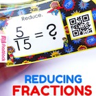 Reducing Fractions QR Code Fun - 4.NF.A.1