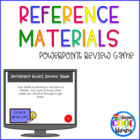 Reference Books Review PowerPoint Game
