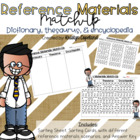 Reference Materials Match-Up