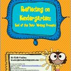 Reflecting on Kindergarten: End of the Year Writing Prompts