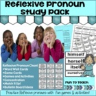 Reflexive Pronoun Study Pack -- yourself, himself