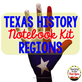 Regions of Texas Notebook Kit