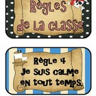 Rglements de la classe